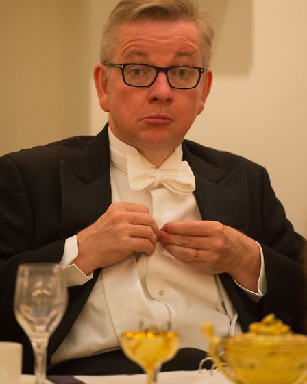 Lord Chancellor and Justice Secretary Michael Gove during the Dinner to Her Majesty's Judges hosted
