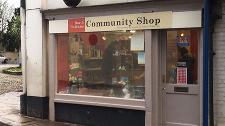 The new North Walsham Community Shop. Picture: Stuart Anderson