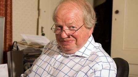 Broadcaster John Sergeant, who will be appearing at the Auden Theatre, Holt as part of a programme c