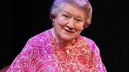 Dame Patricia Routledge, who will be appearing at the Auden Theatre, Holt as part of a programme cel
