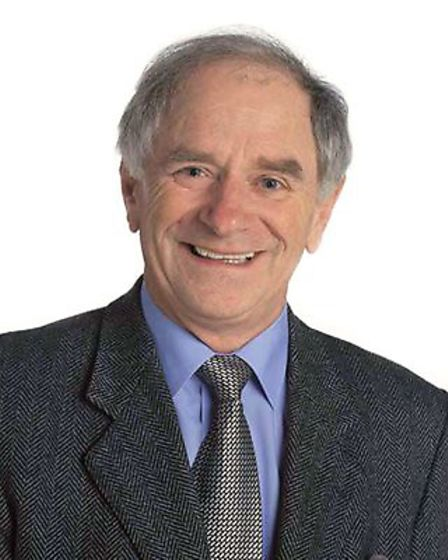 TV personalitiy and mathematician Johnny Ball, who will be appearing at the Auden Theatre, Holt as p