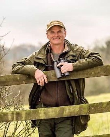 Springwatch presenter Simon King, who will be appearing at the Auden Theatre, Holt as part of a prog