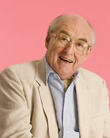 Sports commentator Henry Blofeld, who will be appearing at the Auden Theatre, Holt as part of a prog