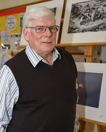 David Gibbins, who judged the Cambridge Digital Interclub competition. Picture: Barry Badcock