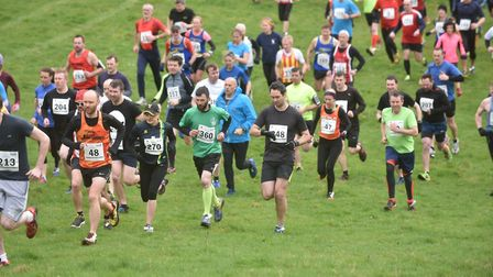 The 2017 Hunny Bell Cross Country Race on the Stody Estate in aid of the Break charity. Picture: Son