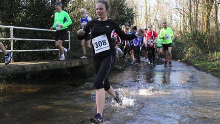 The Hunny Bell run, which takes place at the Stody Estate on Sunday in aid of children's charity Bre