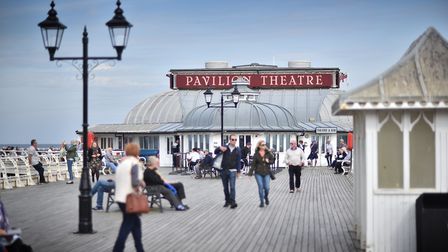 The Pavilion Theatre on Cromer Pier (Picture: ANTONY KELLY)