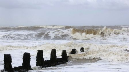 The Norfolk coast appears to have escaped the worst of the predicted floods. Photo: Angela Sharpe