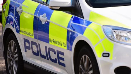 Police car. Police sign. Incident. Crime. Generic stock picture. Picture: DENISE BRADLEY