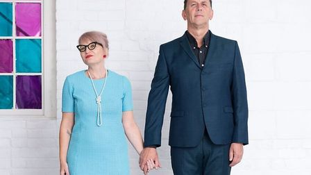 Poets Helen Ivory and Martin Figura, who will be appearing at the Belfry Arts Centre as part of the