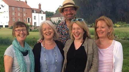 Acapella group Sonrisa, who will be leading a gospel singalong at the Crown, Sheringham, as part of