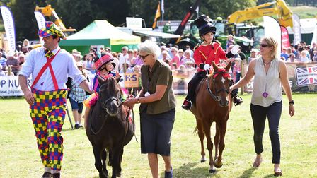 People taking part in a fancy dress parade at last year's Aylsham Show. Picture: Nick Butcher
