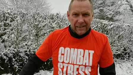 Former north Norfolk police officer and RAF veteral Graeme Sadd plans to cycle 10,000 km to raise m