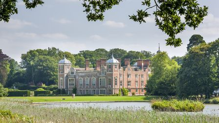 Blickling Estate features in a new book about walled gardens. Picture: MILES JERMY