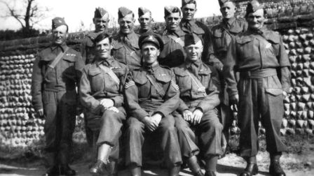 Southrepps Home Guard in the 1940s Picture: Courtesy of the Southrepps Society