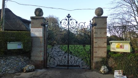 The gates at Overstrand Sports Field have been refurbished. Picture: OVERSTRAND SPORTS CLUB