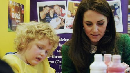 The Duchess of Cambridge is the Royal Patron of EACH. Picture EACH