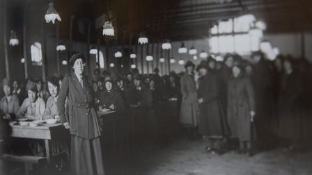 Olive Edis took many photos showing women at work in the First World War. Picture: Olive Edis, copy