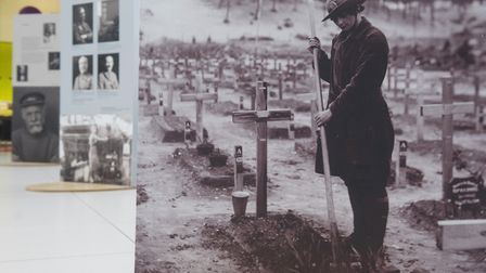 Olive Edis took many photos showing women at work in the First World War. Picture: Olive Edis/Nick