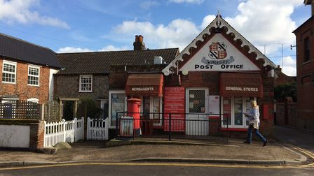 Police are still investigating a robbery at Mundesley post office. Picture: DAVID BALE