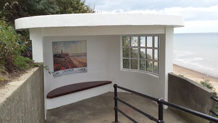 Part of the Art Deco block on Cromer's West Promenade. Picture: NORTH NORFOLK DISTRICT COUNCIL