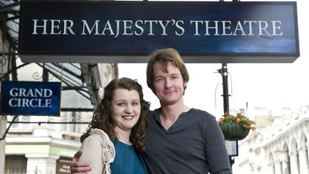 Killian Donnelly with Katie Thompson in London''s West End when he first forged his link with Sherin