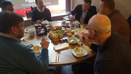 The special tasting event at Hot Rocks, ahead of the launch of its breakfast menu. Pictures: Hot Roc