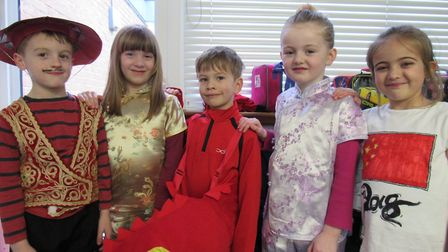 The Chinese New Year at Millfield Primary School in North Walsham. Picture: Dawn Price