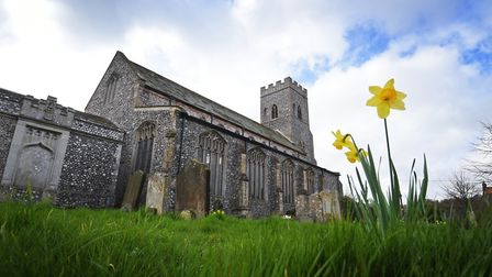 A major fundraising project has been launched at All Saints Church, Upper Sheringham. Picture: ANTON