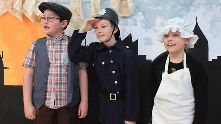 Cromer Junior School's Year 4 production of the musical Oliver! Photo: KAREN BETHELL