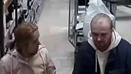 The police are hoping to identify these individuals in relation to thefts in North Walsham. Picture: