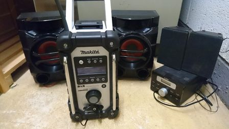 Equipment seized in noise abatement case. Picture: NNDC
