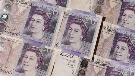 Real £20 notes. Picture: John Stillwell/PA Wire