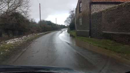 Holt Road heading north towards the A149. Picture: Richard Waugh.