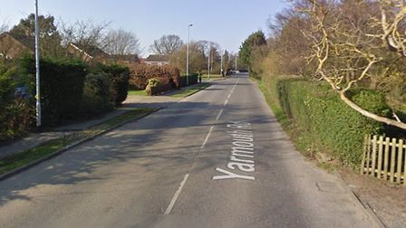 The crash happened in Yarmouth Road, North Walsham. Picture: Google StreetView