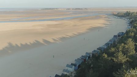 A still from the aerial footage captured by Joshua Paul Gardner. Picture: Joshua Paul Gardner