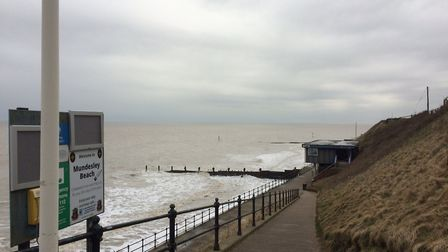 The Mundesley coast. Pictures: David Bale