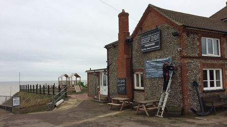 The Ship Inn by the coast in Mundesley. Pictures: David Bale