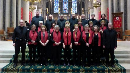 St Austin's Choir, from Yorkshire, who will be performing at two Norfolk venues in April. Photo: St