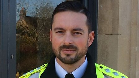 Chief Inspector Wes Hornigold is appealing for information after a spate of burglaries. Picture: Dav