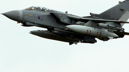Are military jets too noisy? RAF Tornado GR4. Picture: Chris Radburn/PA Wire