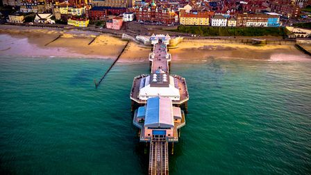 Cromer Pier on a rather blustery yet beautiful day. Photo: Jon Williamson