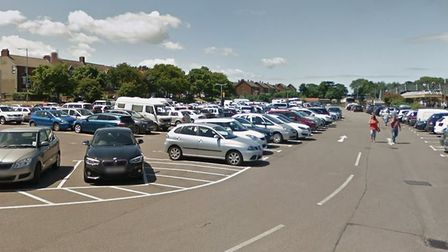 The assault happened Station Approach Car Park in Sheringham. Picture: Google StreetView