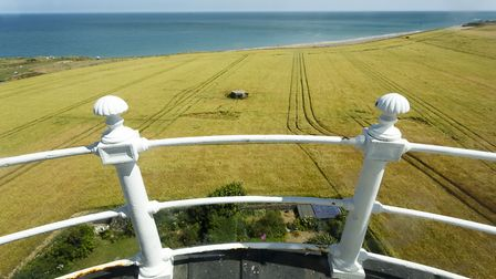 The view from the top of the lighthouse. Picture: MARK BULLIMORE