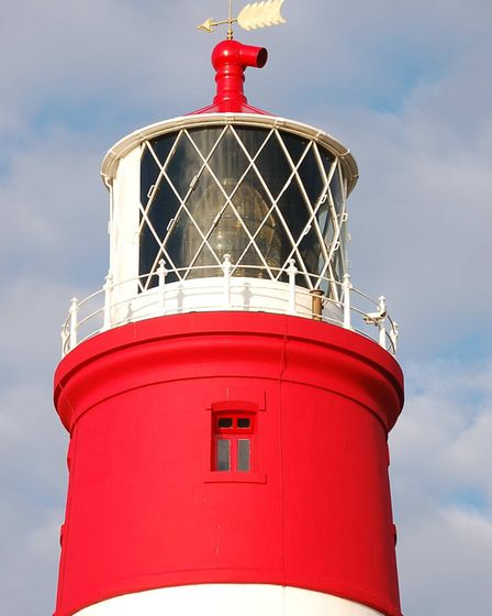 Happisburgh lighthouse optic. Pictures: Patrick Tubby