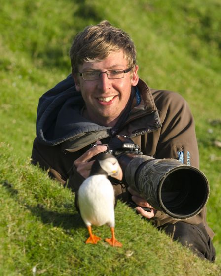 Josh Jaggard's wildlife photos are on display. Picture: Courtesy of Jack Perks