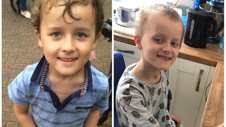 Harry Addy, seven, needs specialist treatment not available on the NHS. Pictures: Supplied by Melani