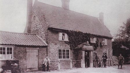 The Erpingham Arms in days gone by. PHOTO: ANTONY KELLY