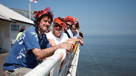 Competitors in last year's World Pier Crabbing Championships at Cromer. Picture: CRAB AND LOBSTER FE