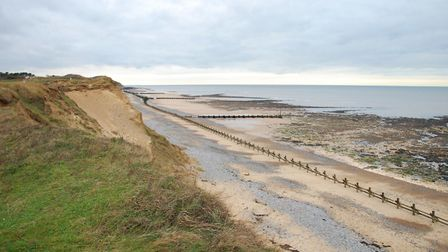 Afternoon walk on West Runton beach. Picture: Peter Gibson